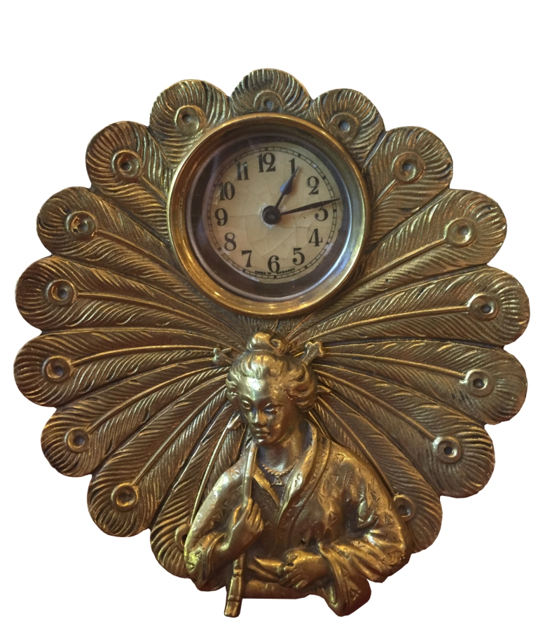 Deco Clock_Maiden