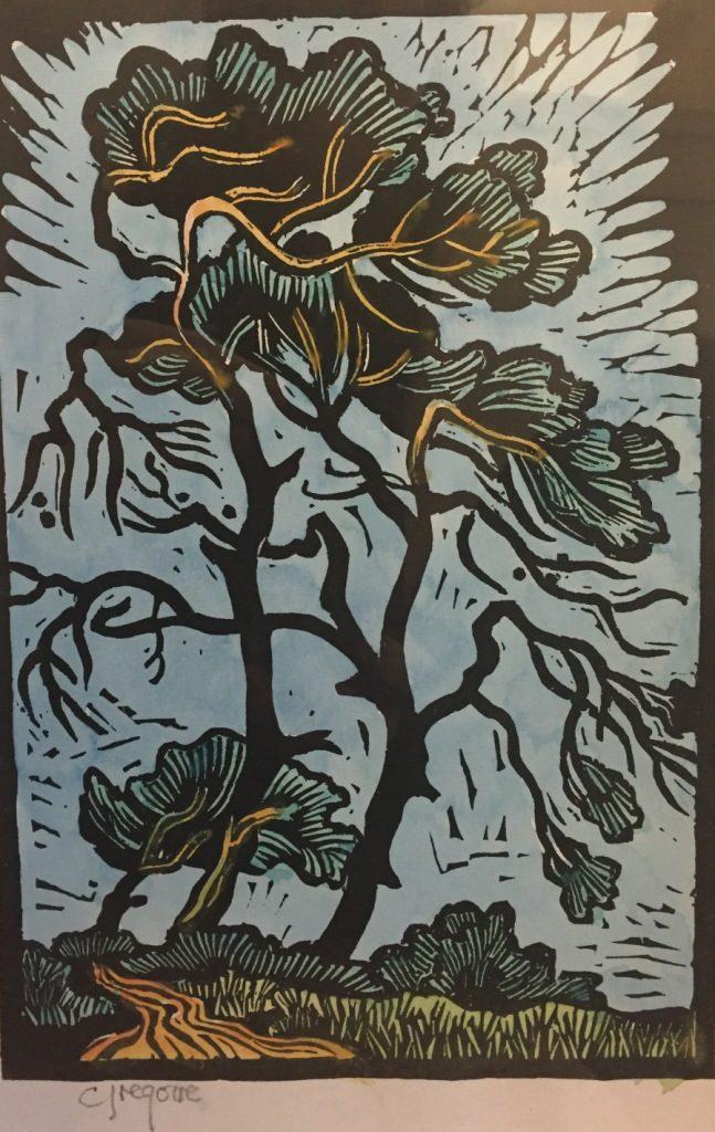 Gregoire Boonzaier_Windy trees dirt road