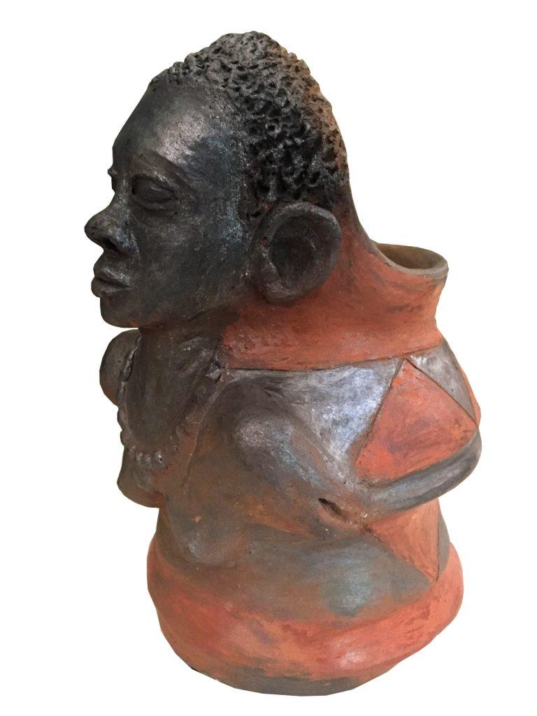 Noria Mbasa_Decorative pot