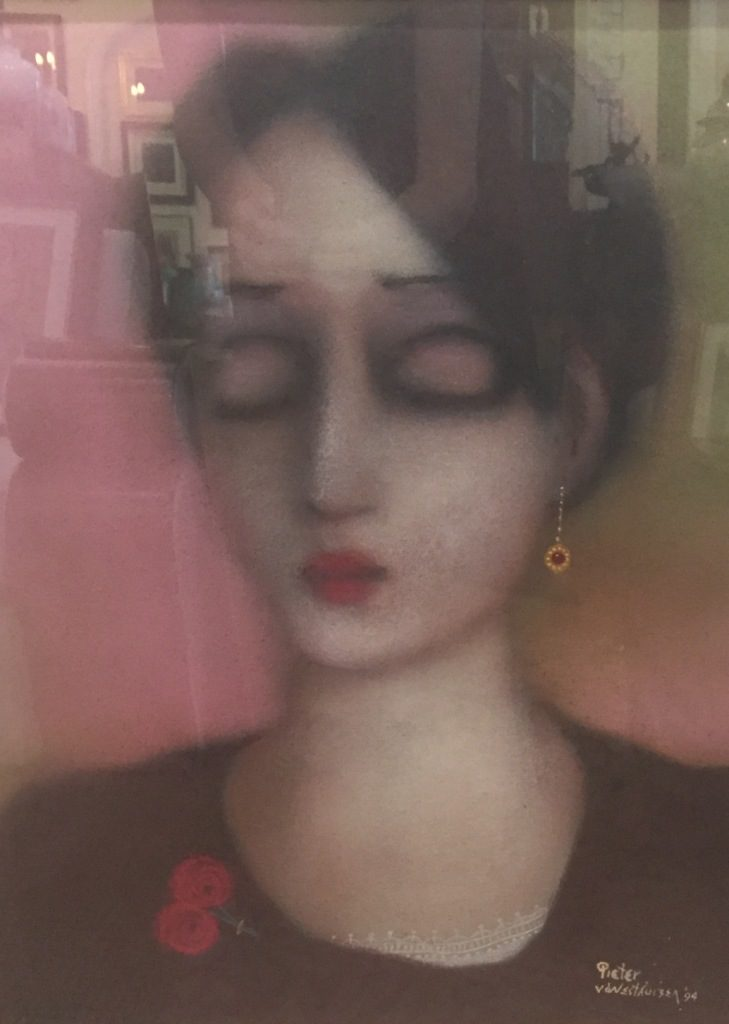 Pieter vd Westhuizen_Woman with ruby earing