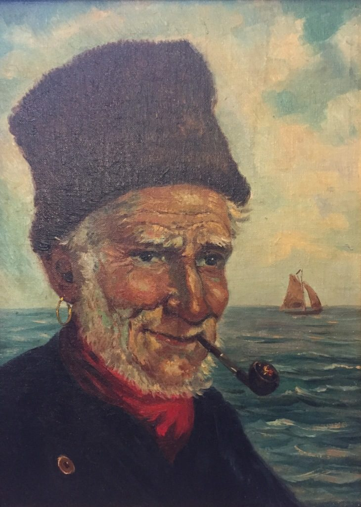 Italian_Old man with pipe