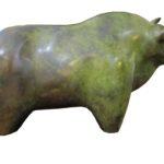 Bronze Bull, Laurence Chait H 22xL 41 x D 14cm - copy