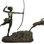 BEU 2792 Female archer and gazelle copy