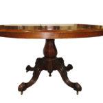 FEU 2820 Oval pedestal table copy