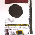 Hannes Harrs Abstract with circle