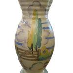 Clarice Cliff Landscape vase copy