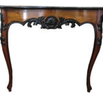 Console card table