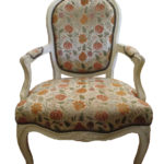Upholstered chair copy